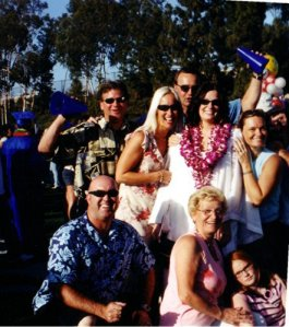 The Family at my oldest HS Graduation