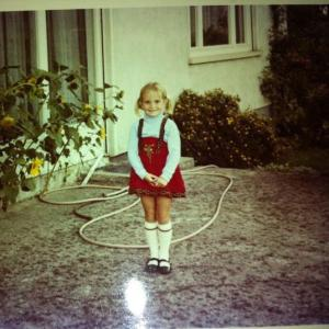 A visit to Germany 1970, I'm guessing shortly after my sister was born.