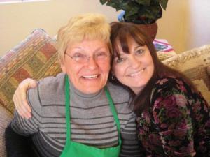 Mama & I Christmas 2008
